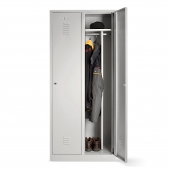 Double-door occupational health and safety cabinet